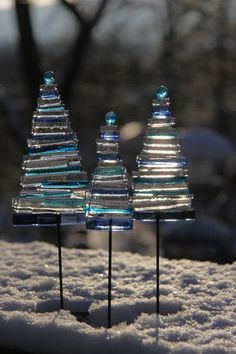 So Pretty! » Glass Christmas Trees » made by Pernille Sporon Boving on gallery-shop.com