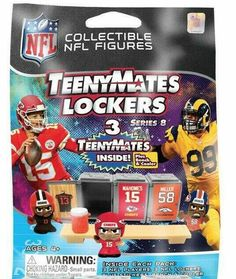 NFL TeenyMates Series 5 Linemen New York Giants Minifigure Loose