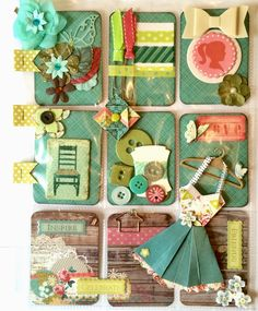 Vintage Style Pocket Letter by Jackie Benedict