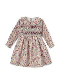 Rachel Riley Girl's Floral Smocked Dress at MYHABIT. $69.