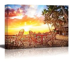 Wall26 - Canvas Prints Wall Art - Tropical Hawaiian Sunse... https://www.amazon.com/dp/B00Y7QRD08/ref=cm_sw_r_pi_dp_x_pZh7xbXSHPS8R