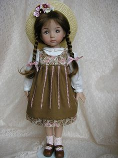 12 LD1 by Tomi Jane, via Flickr  Little Darlings doll by Dianna Effner  Beautiful outfit by Tomi Jane