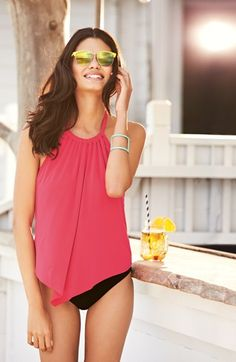 Magic Suit by Miraclesuit® 'Nicole' Underwire Tankini Top | Nordstrom
