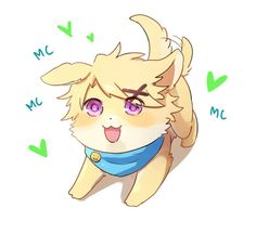 Puppy yoosung is the cutest yoosung