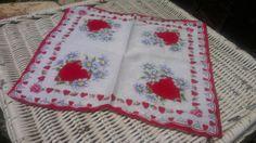 Vintage Handkerchief by KnobKnobwhosthere on Etsy, $4.00