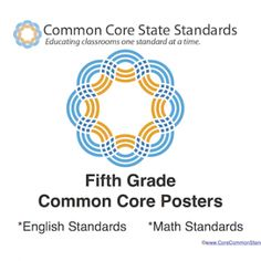 Fifth Grade Common Core Standards for English and Math