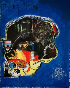 Jean Michel Basquiat Skull 1981 The Broad Art Collection Los Angeles Jm Basquiat, Basquiat Prints, Basquiat Tattoo, Basquiat Artist, Andy Warhol, Jean Michel Basquiat Art, Graffiti, Outsider Art, Art History