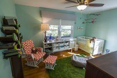 DIY Baby Nursery: a Modern Forest