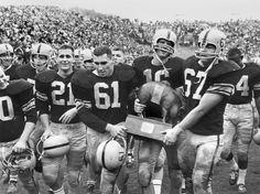 Photo: Iowa Hawkeyes Football History