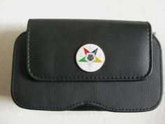 XL Eastern Star Masonic  Cell Phone Pouch with a by JudysEtsyStore, $19.95
