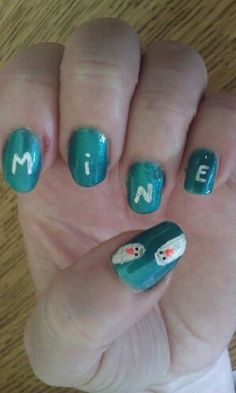 Mine. Finding Nemo nails