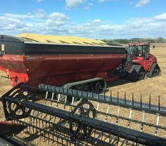Quad track & tracked grain trailer