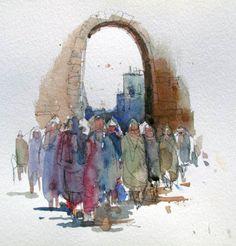 Crowded Marketplace