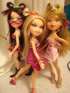 Bratz...I remember when these dolls came out too and I forgot all about my barbies