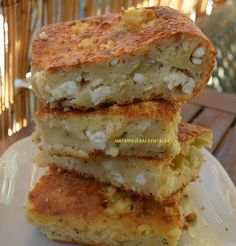 6 Grilled Cheese Sandwiches that will Haunt Your Daydreams Greek Recipes, Desert Recipes, Greek Sweets, Greek Cooking, Brunch, Happy Foods, Food To Make, Feta, Food Porn