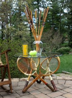Amazing 10 Ways To Repurposed Old Rackets