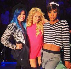 Demi Lovato / Paulina Rubio / Kelly Rowland