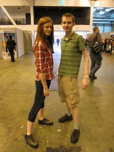 Amy Pond and Rory Williams from Doctor Who. Great costume idea!! :D