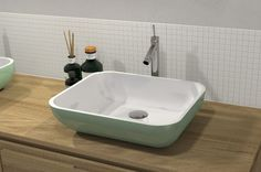 Vasque SQUARE BOWL 44x36x12cm