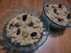 Receitas da Romy: Quinoa doce com nozes e sultanas (sem açúcar, sem ...