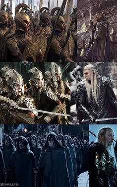 The army of the elves