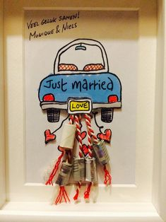 Diy Wedding Gifts, Diy Gifts, Wedding Goals, Just Married, Inspirational Gifts, Plexus Products, Teacher Gifts, Hand Lettering, Diy And Crafts