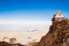 A casual stroll around these spectacularly exposed mountain abodes usually requires climbing gear.
