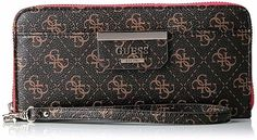 Luxury Style Woman Large Zip Around Wallet GUESS With 5 Pockets & 12 Card Slots #GUESS #MiniWallet