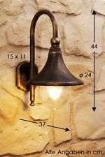 Classic outdoor wall lamp antique garden sconce patio lantern lighting 104843