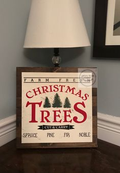 Christmas Tree Cutting, Signs, Yellow, Home Decor, Homemade Home Decor, Shop Signs, Sign, Decoration Home, Dishes