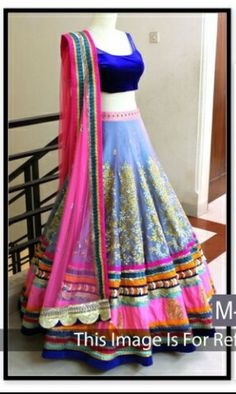 Kreckon Pink And Purple Satin And Dupion Embroidered Bridal Lehenga Choli,Shop for Designer Lehenga Choli, Bridal Lehengas,Bollywood Lehenga Choli and add some dazzle to any function you attend with our range of Ghagra Cholis. Pakistani Bridal Lehenga, Lehenga Choli Wedding, Bollywood Lehenga, Party Wear Lehenga, Ghagra Choli, Indian Bollywood, Bollywood Bridal, Indian Lehenga, Blue Lehenga