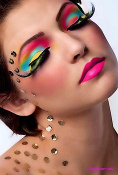 Butterfly Eye makeup tips