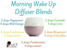 Morning wake up diffuser blends doterra essential oils