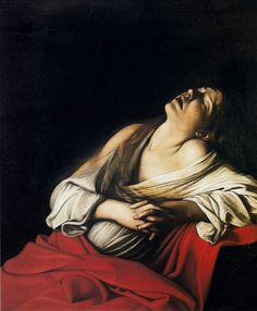 Caravaggio - Mary Magdalen in Ecstasy, 1606