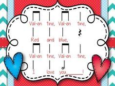 VALENTINE, RED AND BLUE - TeachersPayTeachers.com