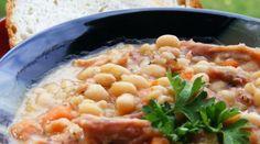 #soup #recipe #Autumn Zuppa di fagioli e prosciutto!!! #legumes #legumi #beans #fagioli #ham #prosciutto #zuppa #ricetta #autunno #hotsoup #zuppacalda