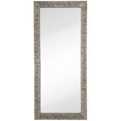 Wall Mirrors - Mirror Type: Wall, Frame Finish: Nickel-Silver | AllModern