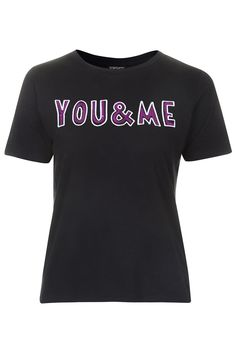 You and Me Sequin Tee