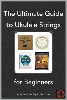 The Ultimate Guide to Ukulele Strings for Beginners Best Acoustic Guitar, Acoustic Guitar Lessons, Guitar Diy, Guitar Songs, Acoustic Guitars, Ukulele Strings, Souvenir Store, Cigar Box Guitar, Classical Guitar