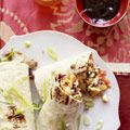 Quick Mu Shu Pork, or Chinese-style soft tacos, from Good Housekeeping. Bizarre concept, but this recipe actually looks really good. I'd probably replace the jicama with water chestnuts and add bamboo shoots and bean sprouts.