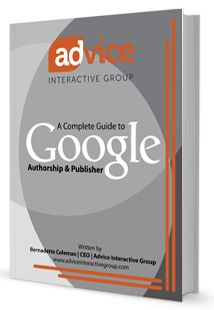 Learn what what Google Authorship and Google Publisher are, how they affect search rankings, and what you can do about it in Advices exclusive new eBook.