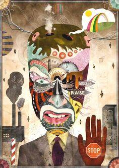 MATHIS REKOWSKI http://www.widewalls.ch/artist/mathis-rekowski/ #contemporary #art