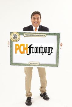 Todd Sloane says....PCH Frontpage gives you the headlines you want, and the chances to win!  ....
