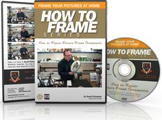 Learn How To Repair Picture Frame Ornaments. This DVD shows you steps to repairing damaged ornamental picture frames using modern materials.