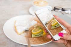 How to take good food pictures and share them securely online