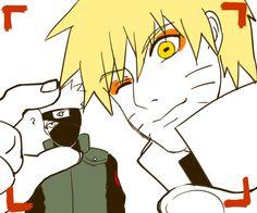Kakashi Sensei and Naruto
