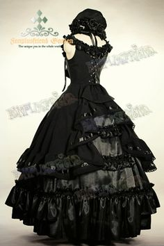 Victorian Vampire dress?  Or maybe an 1800's southern vampire dress? :-)