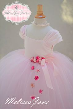 Hey, I found this really awesome Etsy listing at https://www.etsy.com/listing/218794780/floating-princess-pink-flower-girl-dress