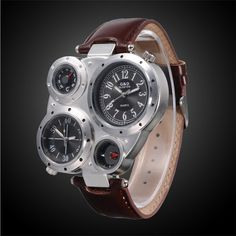Qualified Geneva Fashion Men Date Alloy Case Synthetic Leather Analog Quartz Sport Watch Mens Watches Top Brand Luxury Masculino Reloj #10 Good Companions For Children As Well As Adults Quartz Watches