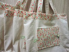 - Calculator Tutorial and Ideas Cotton Shopping Bags, Reusable Shopping Bags, Diy Tote Bag, Tote Backpack, Sewing To Sell, Embroidery Bags, Bottle Bag, Jute Bags, Simple Bags